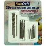 30pc HSS Mini Drill Bit set