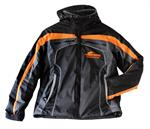 Winter jacket Serpent black-orange hooded (2XL) (SER190175)