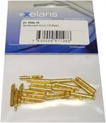 Goldkontakt 2mm (10 Paar)