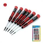 6pce Slotted blade screwdriver set
