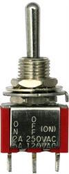 Kippschalter 1xUMMTS - 2A - 250V
