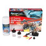 Multi-Tip All-purpose Airbrush Kit