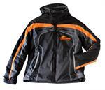 Winter jacket Serpent black-orange hooded (L) (SER190173)
